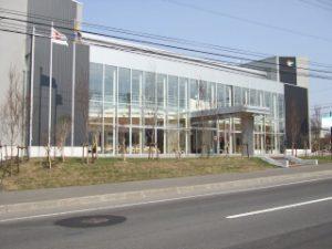 地区センター外観