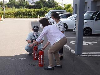 消火器実践